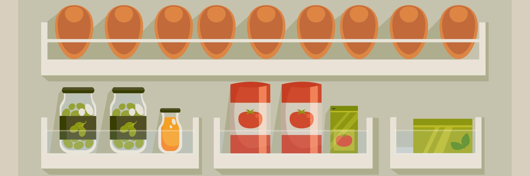 uova in frigo