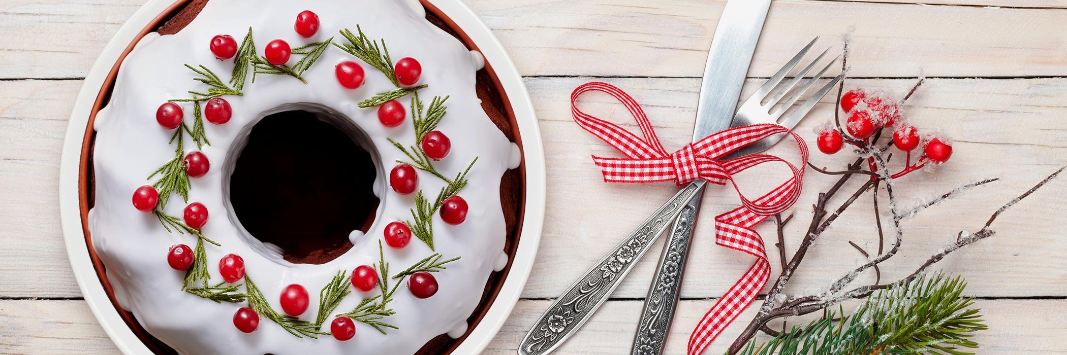 Torta al cramberry