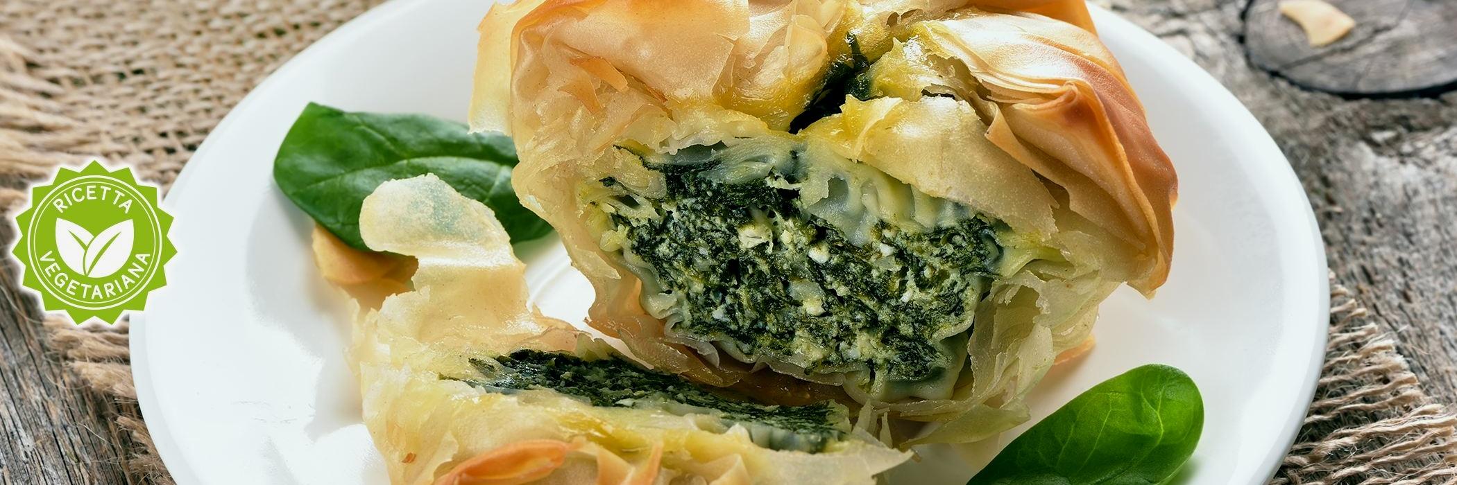 galette salata ricotta e spinaci