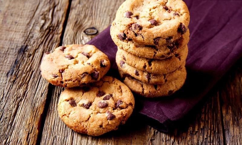 Cookies al cioccolato fatti in casa
