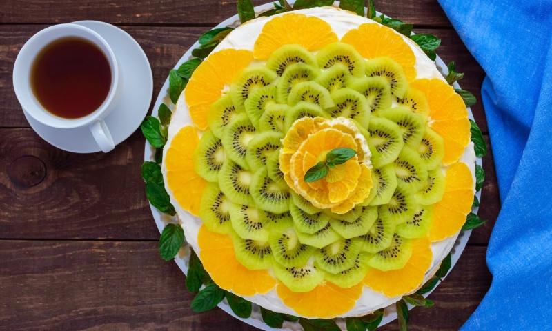 cheesecake ai frutti esotici